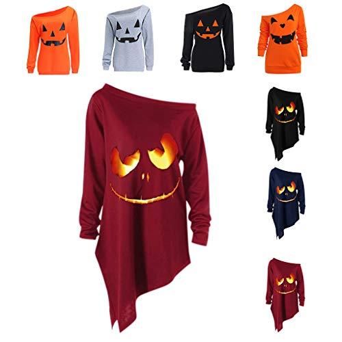 Lustige Kostüm Ideen Selbstgemacht - LOPILY Halloween Shirts Kürbis Kostüm Damen