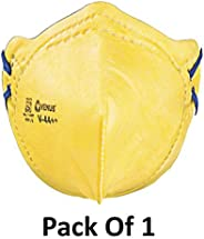 Venus v44++ FFP1S Solid Dust Mist Protection C-Style Anti Pollution ISI Approved Mask and Respirator Pack of 1