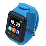 Bingo U8 S BLUE- BLACK Combination Smart Watch Support Bluetooth With HI-FI MUSIC QUALITY, Remote Click Photo Function
