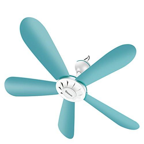 Fan Ventilateur à Cinq Volets DE 16,5 Po (42 cm), Petit Ventilateur de Plafond pour Usage Domestique, Ventilateur de moustiquaire de dortoir pour étudiants, Insectifuge Silencieux en Ligne