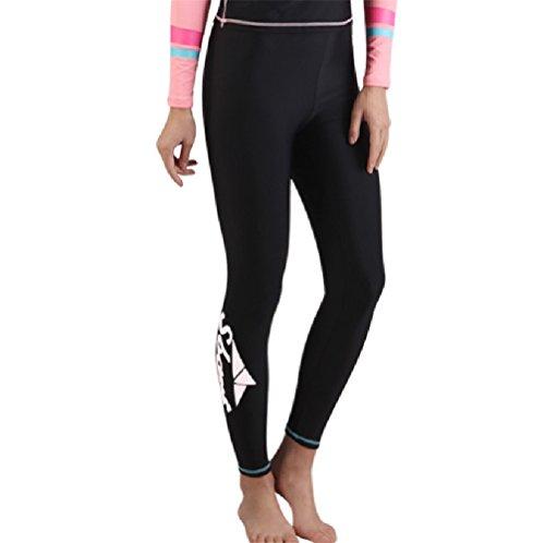 donna-yoga-boccaglio-swim-suits-sunscreen-snorkeling-medusa-pantaloni-black-white-labal
