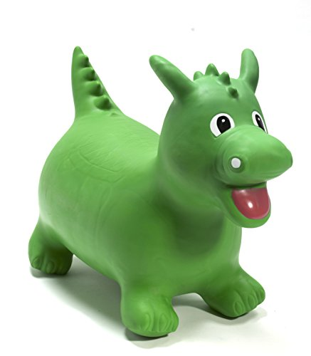 Happy Hopperz - Dinosaurio, color verde (HHZ11)
