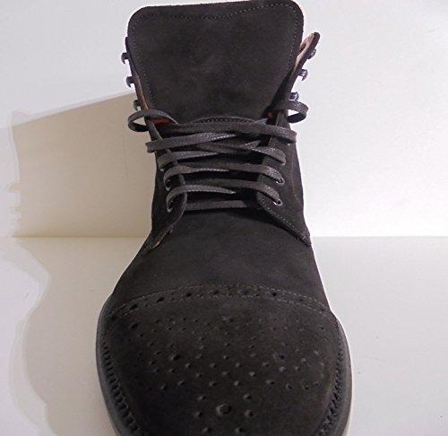 GEREMIA  TRONCHETTO STRINGATO, Chaussures de ville à lacets pour homme ITA - 43 UOMO Marron