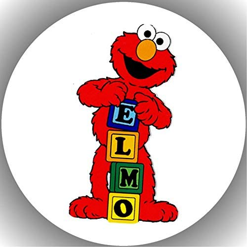 er Tortenbild Geburtstag Sesamstraße Elmo T1 ()