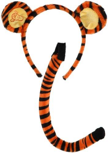 Winnie The Pooh Tigger Ears & Tail Costume Accessory (Winnie Tigger The Pooh Und Erwachsene Für Kostüme)