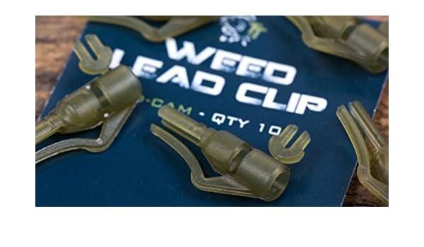 Nash Weed Lead Clip T8420 Clips TOP//NEU 0,35 €//Stück