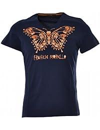 FRANKIE MORELLO Herren T-Shirt Blau blau XX-Large