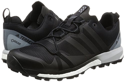 adidas Terrex Agravic Gtx, Herren Wanderschuhe, Schwarz (Nero Negbasnegbasftwbla), 43 13 EU