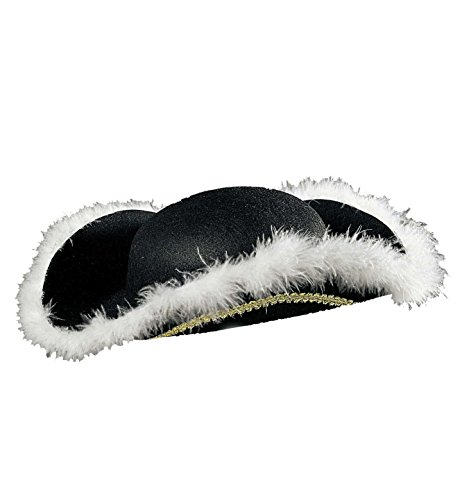 Widmann - Spitzen schwarz mit Finish in Marabou (Corporate Ideen Halloween)