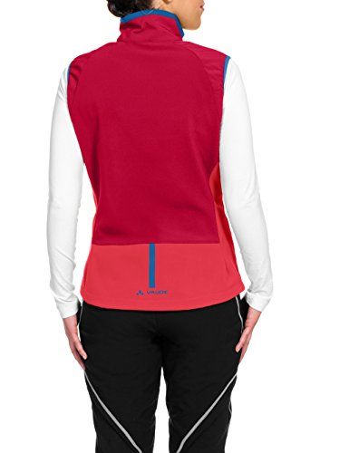 VAUDE Damen Weste Primasoft Vest Indian Red