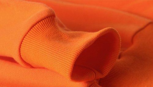 doxungo Pullover, Maglione da donna, fitness Pullover, spessore Sport Pullover per autunno Rot