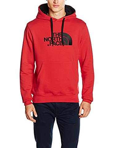 The North Face Drew Peak Men's Outdoor Hoodie available in TNF Red/TNF Red Size Medium