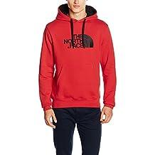 The North Face Drew Peak - Sudadera para hombre, color Rojo (TNF RED/TNF RED), talla S