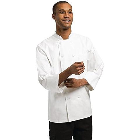 Chef Lavori Phoenix White Chef Jacket Polycotton. Misura: S (Per il montaggio del torace 36-38