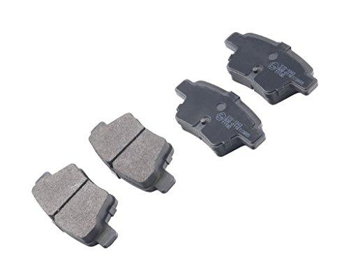 Preisvergleich Produktbild für Peugeot 207 Wa Wk 307 207 Cc 307 Cc Citroen Bremsbeläge Hinten