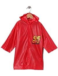 Disney Pixar Cars Lightning Mcqueen Boy's Red Rain Slicker