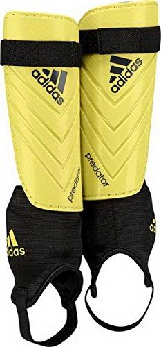 adidas Erwachsene Schienbeinschoner Predator Club Bright Yellow/Dark Grey, L -