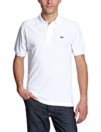 Lacoste - L1212 - Polo Homme, Blanc, Medium (Taille fabricant : 4)