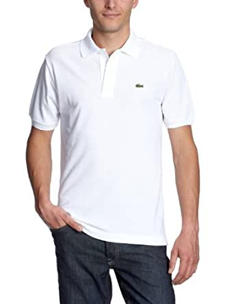 Lacoste - L1212 - Polo Homme, Blanc, X-Small (Taille fabricant : 2)