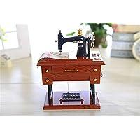 WEIGZ Música clásica Caja Mini máquina de Coser Pulpo decoración
