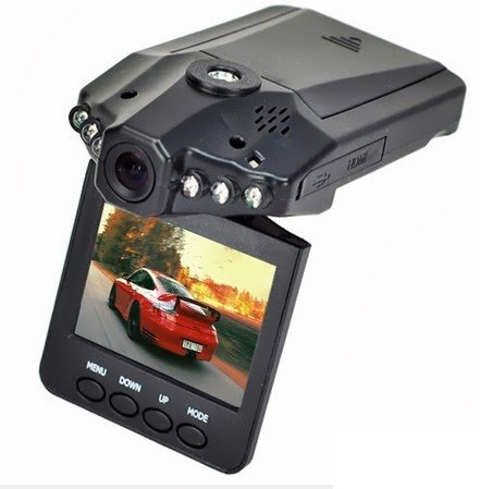 Enem Wireless CCTV Camera and Car DVR with 2.5 Inches LCD screen and Night Vision