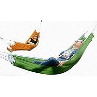 XU-XIAZHI,Hamaca de Tela de Nylon para Acampar al Aire Libre(Color