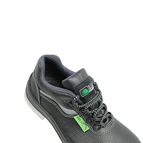 Saturno siili berufsschuhe businessschuhe safety s3 sRC chaussures de chaussures de sécurité chaussures de travail noir Noir - Noir