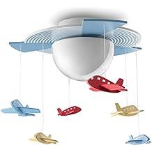 Home Kinderzimmer Deckenlampe Junge Auge Energiesparende Flugzeuge ...