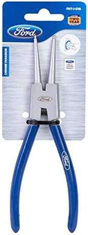 Ford Tools Professional External Heavy Duty Chrome Vanadium Circlip Plier, 7 Inch, FHT-J-016