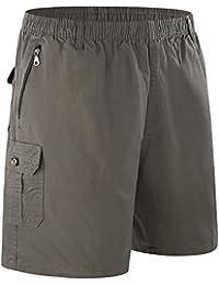 acd9ca38346b Leezepro Cargo Shorts Herren Baumwolle bequem komfort Männer Cargo Hosen  kurz Bermuda Shorts Chino Shorts Outdoor