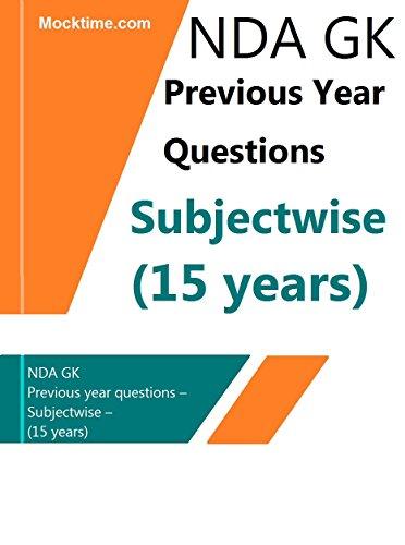 Nda guide gk array nda gk previous year questions u2013 subjectwise u2013 15 years ebook rh fandeluxe Gallery