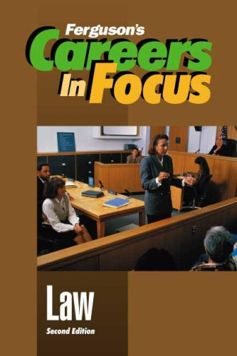 Law (Ferguson's Careers in Focus)