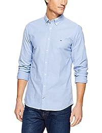 Tommy Hilfiger Core Stretch Slim Oxford Shirt, Camicia Uomo
