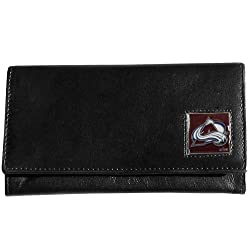 NHL Colorado Avalanche Genuine Leather Women's Wallet