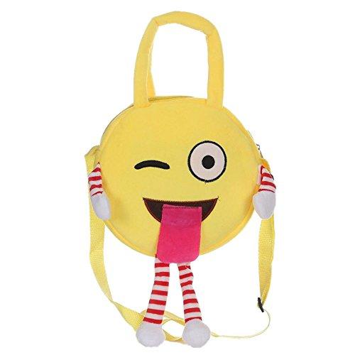 Imagen de smartlady niños niñas emoji escuela bolsa  c