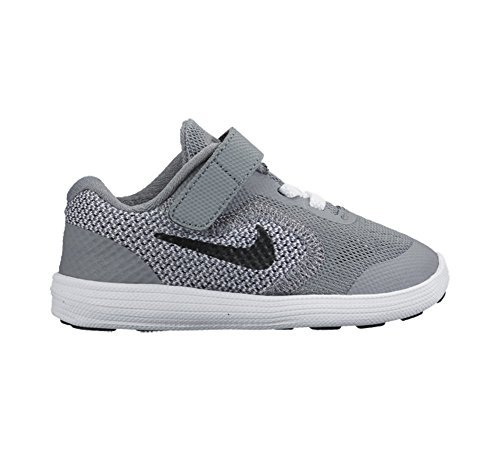 new styles 4a430 e90c6 Nike 819415-003 Baby Boy S Revolution 3 Athletic Shoe Grey 9 Toddler M-  Price in India