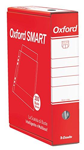 Esselte oxford smart, scatola dispenser di buste deluxe, in cartone, riutilizzabile come scatola archivio, imballo da 300 buste, formato protocollo, 3910908600