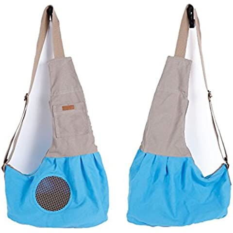 Zaino animali Carrier pacchetto borsa di tela