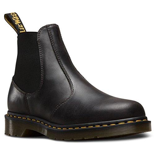 Dr. Martens Herren 2976 Hardy Chelsea Boots, Grey (Gunmetal Orleans 029), 44 EU