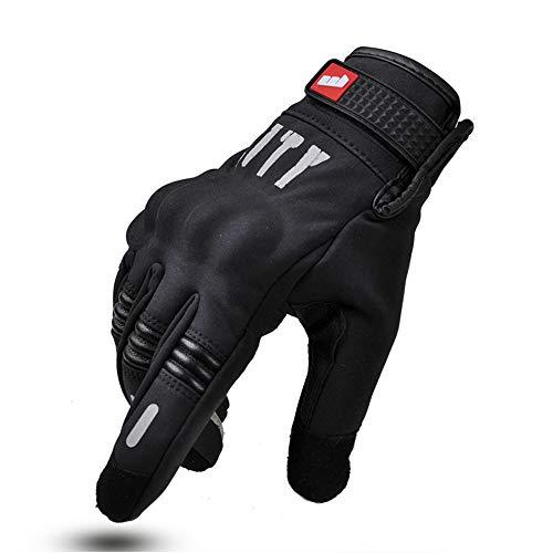 ZDHG Guanti Moto,Nuovi Guanti, Touch Screen/Anti-Skid/Anti-Usura /, Moto/Bicicletta/Sci, Adatto per L'Estate, Autunno e Inverno/Uomini e Donne (M-XXL),XXL