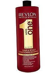 Revlon - Uniq One Shampooing Baume Soin Grand format: Gamme Revlon Pro - 1000 ml
