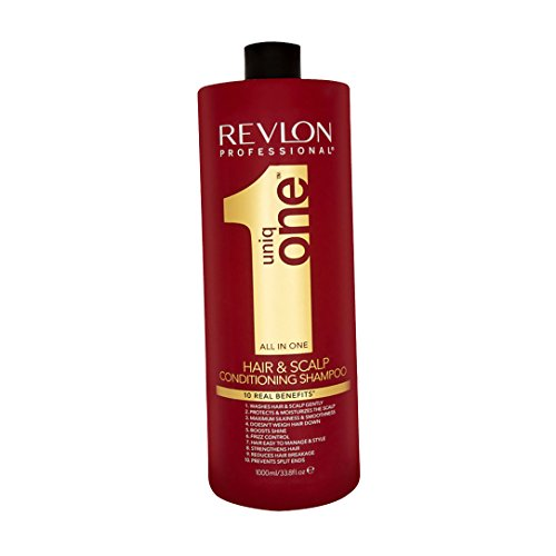Revlon Profesional - UniqOne All in One 10 beneficios reales - Champú y acondicionador - 1000 ml