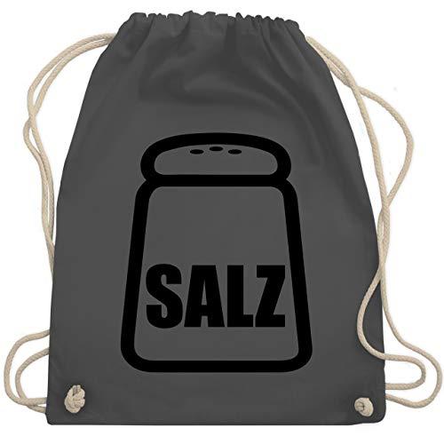 - Salz Karneval Kostüm - Unisize - Dunkelgrau - WM110 - Turnbeutel & Gym Bag ()