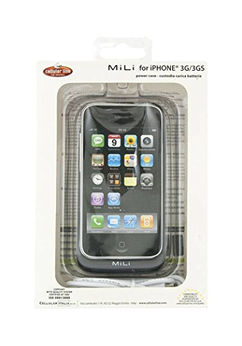 Cellular Line Gehäuse Mili Case mit Akku für Apple iPhone/iPod/iPod Nano