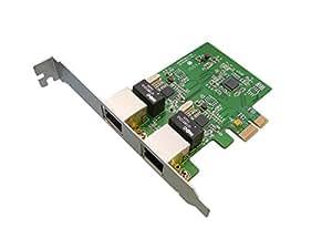 KALEA-INFORMATIQUE © - Carte Réseau PCIE - 10/100/1000 Mbps DUAL GIGABIT ETHERNET - CHIPSET RTL8111