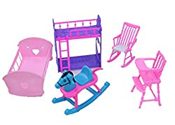 Cheap Doll House Furniture Set The Babys Room Sets