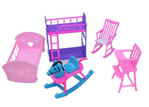 Günstige Puppenhaus Möbel Set-The Babys Zimmer Sets