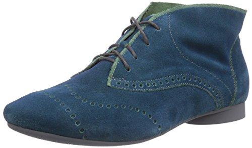 Think GUAD Damen Kurzschaft Stiefel Blau (BLUE/KOMBI 92)
