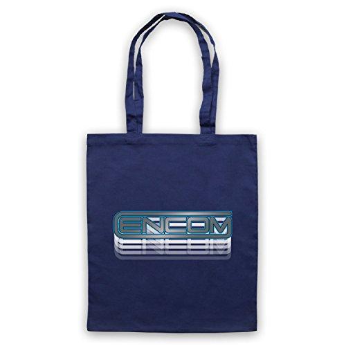 Inspiriert durch Tron Encom Logo Inoffiziell Umhangetaschen Ultramarinblau