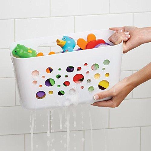 Mdesign portaoggetti in plastica per la doccia offerta offerte amazon ed ebay - Porta bagnoschiuma per doccia ...